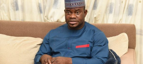 Kogi State Governor, Yahaya Bello [Photo Credit: The News Nigeria]