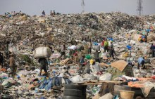FILE PHOTO: Heap of waste (AP Photo/ Sunday Alamba)