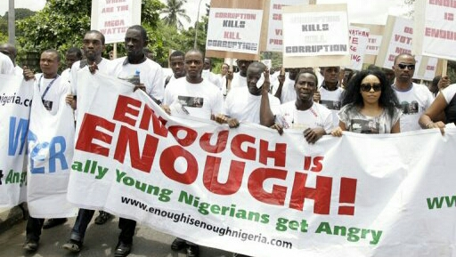 Beset by economic woes Nigerians protest for change