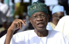 Minister of Information, Lai Mohammed [Photo credit: Daily Post]