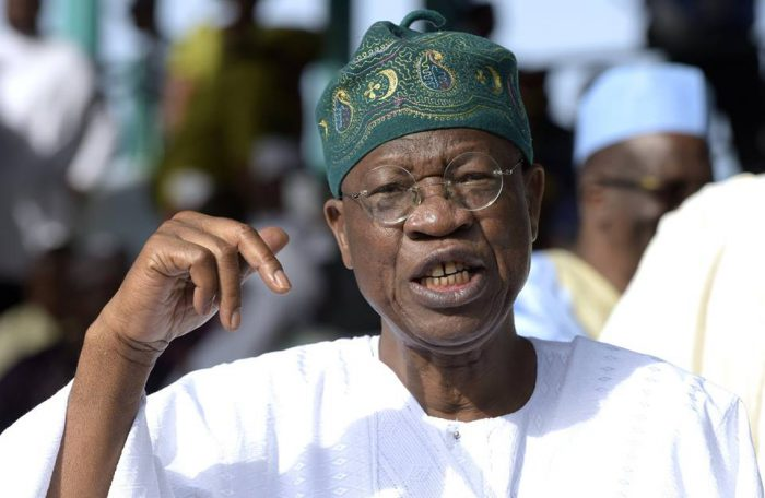 Tell Me One Thing I Said That Is Not True – Lai Mohammed