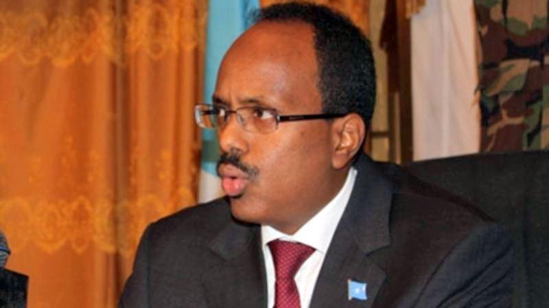 Newly elected Somali President, Mohammed Farmajo
