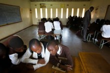 A school in Zambia used to illustrate the story [Photo credit: Europa.eu]