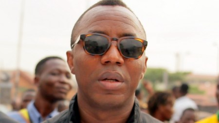 In what is clearly a brutal assault on free speech, Omoyele Sowore was arrested.