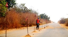 Suleja-Minna road [Photo: People Monthly Online]