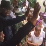 Acting President Yemi Osinbajo in Yenogoa