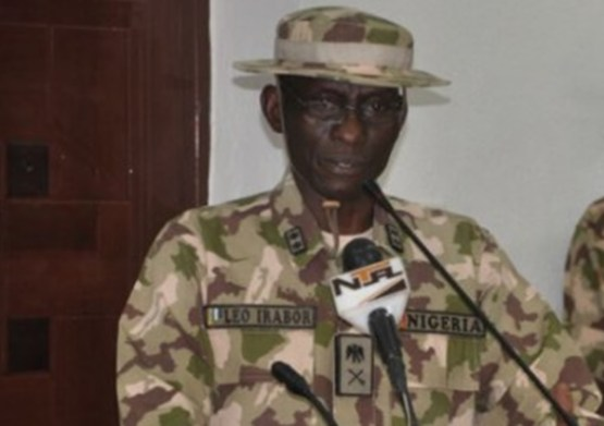 Major General Lucky Irabor, commander of Operation Lafiya Dole [Photo Credit: Punch]