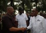 Delta State Governor, Senator Ifeanyi Okowa (ri