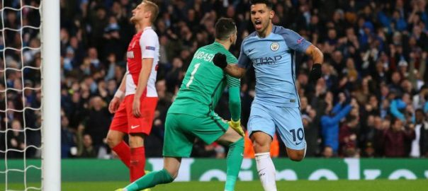 Aguero strikes in comeback win for City [Photo credit: Sports Illustrated]
