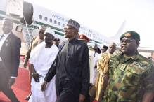 President Buhari arriving from London Friday