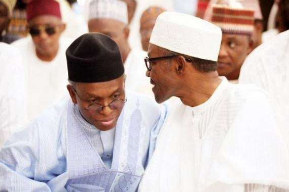 El Rufai and Buhari [Photo: Pulse.ng]