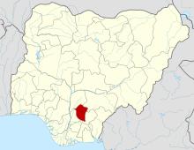 Enugu on map [Photo: Wikimedia Commons]