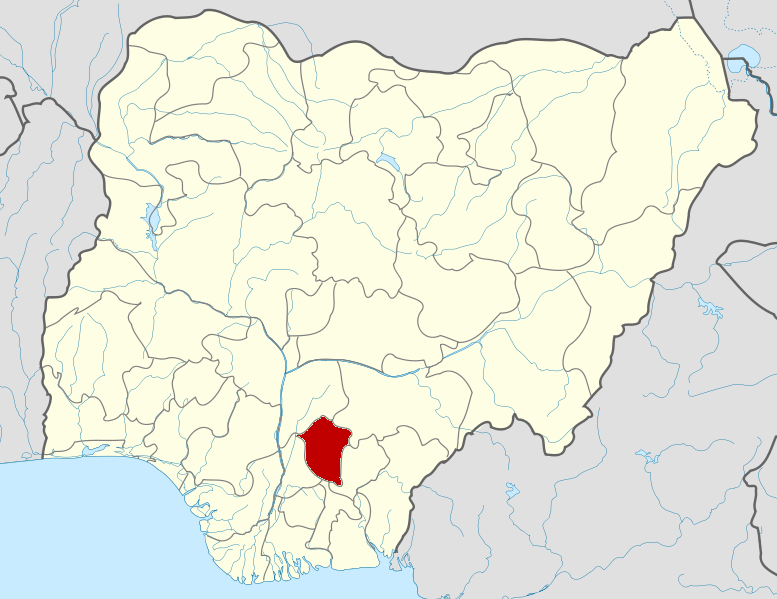 Enugu on map [Photo: Wikimedia Commons]