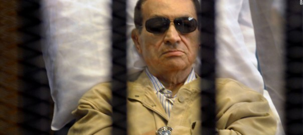 Former Egyptian leader, Hosni Mubarak [Photo: CNN.com]
