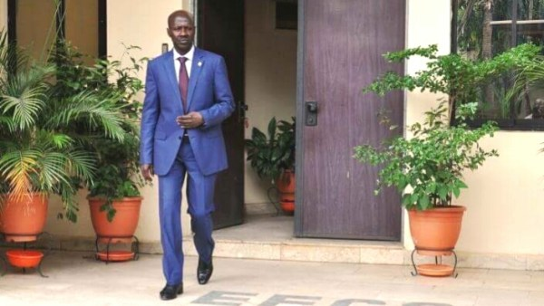 Suspended EFCC Chairman, Ibrahim Magu [Photo: Bashir Amaad]
