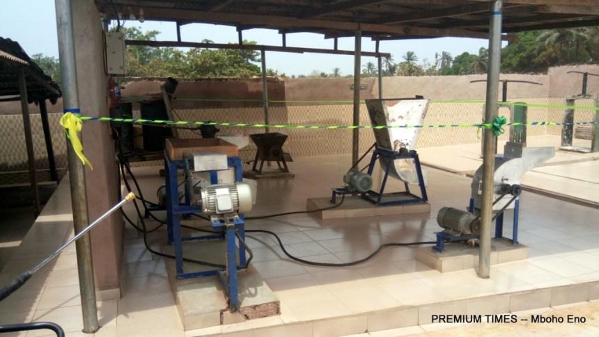 Cassava peel machine used to make Livestock feed