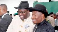 Gov Dickson and former Nigerian President, Goodluck Jonathan [Photo: NAN]