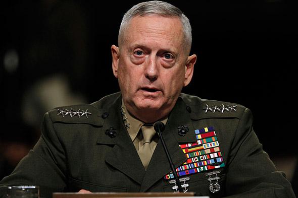 U.S. Defence Secretary, James Mattis