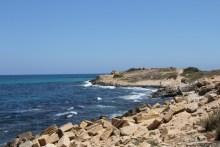 The Libyan coast near Tripoli. [Photo credit: joepyrek/Flickr]