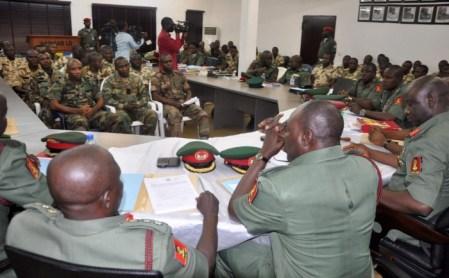 Military court martial [Photo: Newspeakonline]