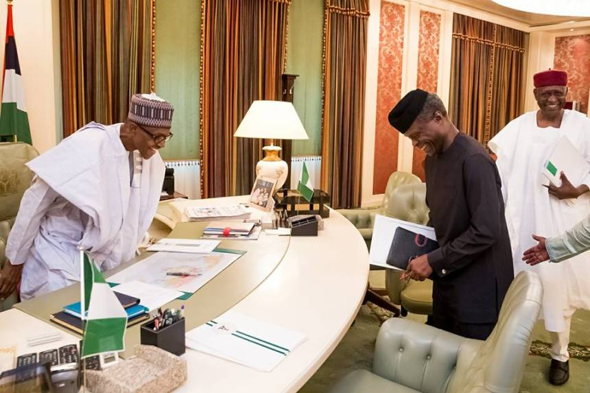 Buhari names Osinbajo 'coordinator' of nation's affairs