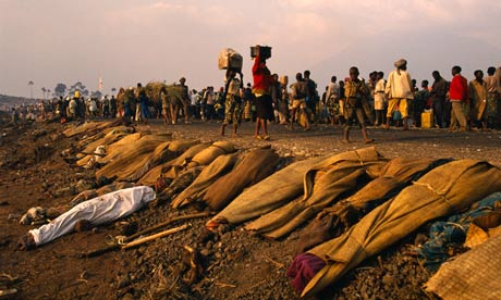 an analysis of the topic of the rawandan massacres The hunt continued until mid-july, when a rebel army conquered rwanda and brought the massacres to a halt that october, a united nations.