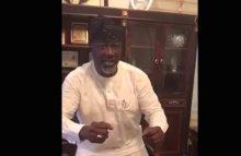 Senator Dino Melaye sings, dances to shame his critics