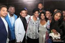 The lead cast and Ebonylife CEO, Mo Abudu
