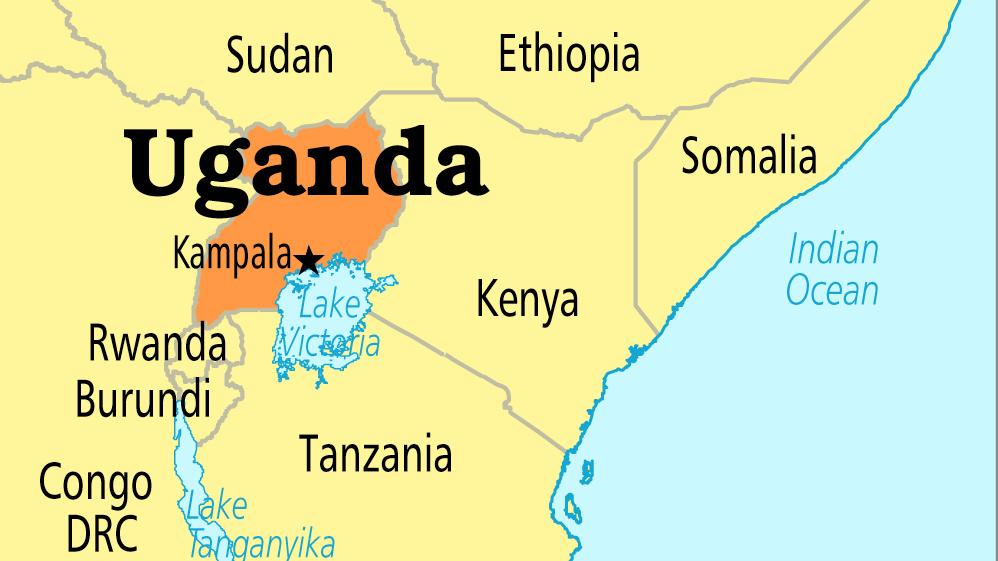 Uganda map - Uganda to immunise 18m children in measles, polio campaign drive