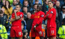 Liverpool beat Everton to boost top-4 chances [Photo: theguardian.com]