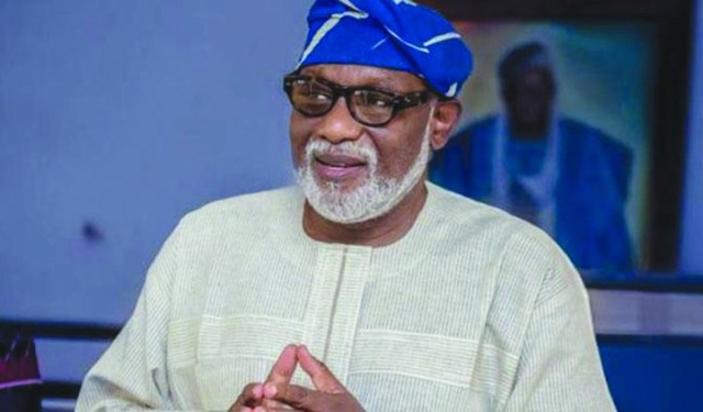Ondo Will Provide Quality Tertiary Health Care For Residents— Akeredolu