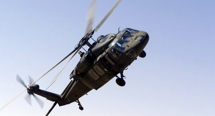 Saudi military helicopter crashes in Yemen, kills 12 [Photo: Sputnik International]