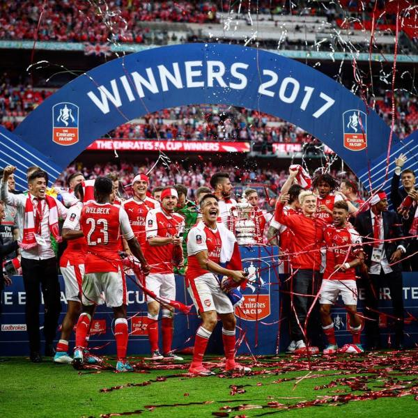 Arsenal FC - 2017 FA Cup winner