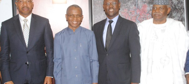 Kaduna State governor, Nasir El-Rufai with the management of Notore Chemical Industries Plc