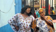 Mercy Johnson and Uche Jombo in a scene from Kondo Game