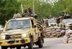 Nigerian Army on patrol