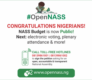 #OpenNASS advert