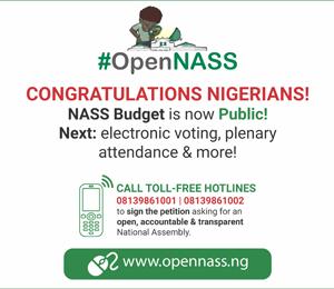 #OpenNASS advert