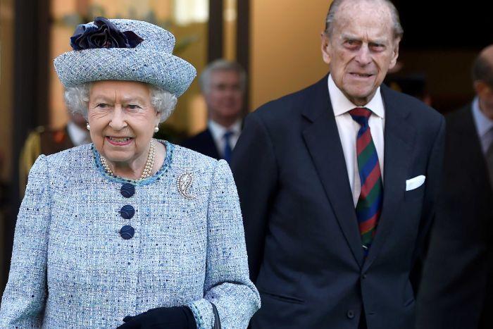 Prince Phillip and Queen Elizabeth