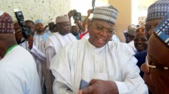 Sule Lamido at the wedding