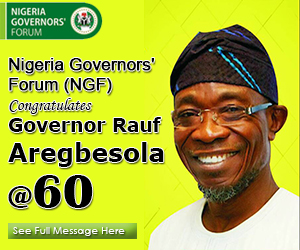 Aregbesola at 60 advert