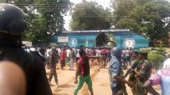 Scene of the shooting at Command Secondary School Junction, Nnamdi Azikiwe Way, Kaduna