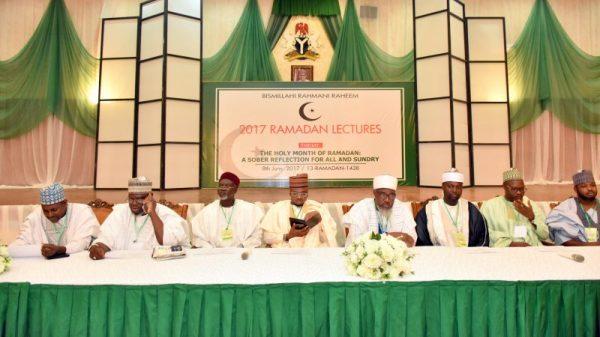 Aisha Buhari, Magu, Toyin Saraki, others at prayer session for President Buhari