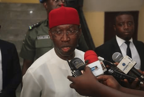Image result for images of Governor Okowa