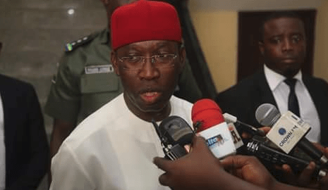 Delta State Governor, Ifeanyi Okowa [Photo: Ebal's Blog]