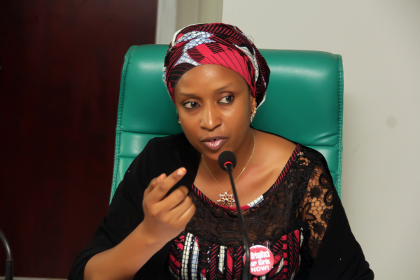 Managing Director of the Nigerian Ports Authority (NPA), Hadiza Bala Usman,