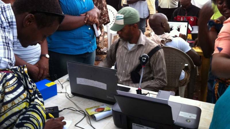 Image result for 74m voters registered in second week of January - INEC