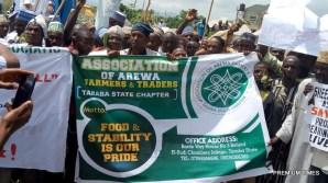 Herdsmen, cattle dealers storm Taraba Assembly protest against anti-grazing bill