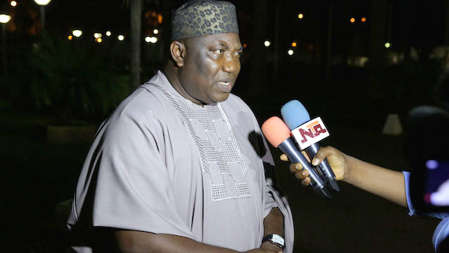 Enugu State Governor, Ifeanyi Ugwuanyi [Photo Credit: The News Nigeria]