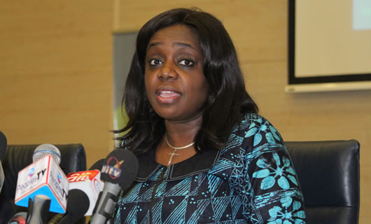 Kemi Adeosun, Minister for Finance